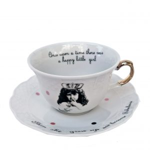 porcelain white cups