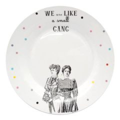 """ We are like a small Gang"""" big flat plate"