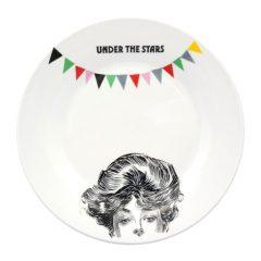 "Big flat plate""Under the Stars"""