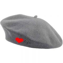 "gray beret""♥life"""