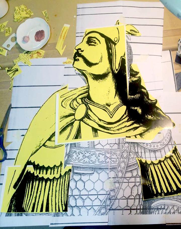 Custom made mosaic Ivan Kosancic