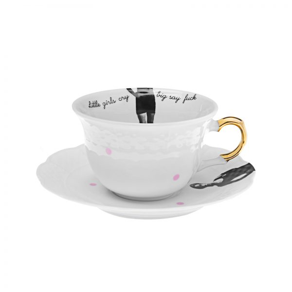 porcelain tea cups