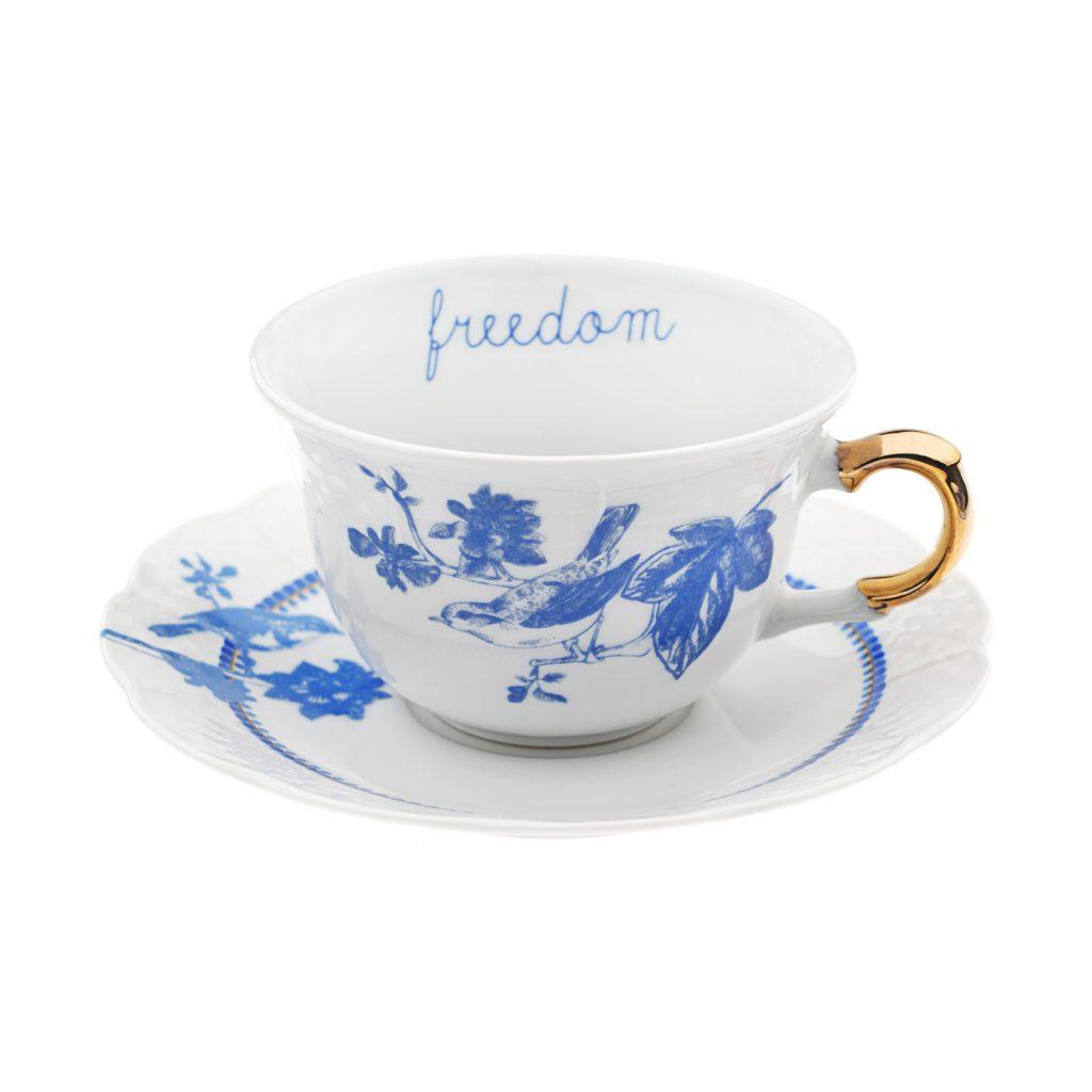 Freedom tea cup