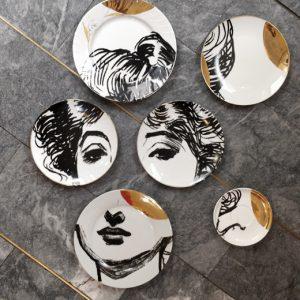 Porcelain mosaic
