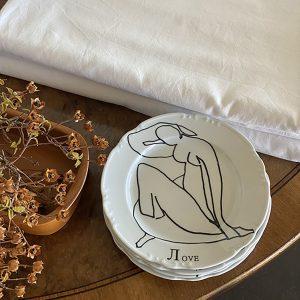 Matisse-lоve plate