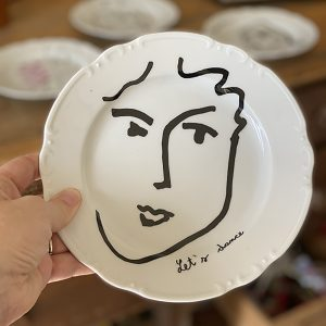 Homage to Matisse-Lets dance plate